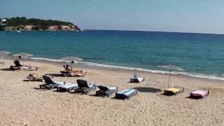 Beach, Sant Pol, Sant Feliu de Guixols, Costa Brava, Spain