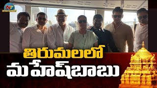 Mahesh Babu At Tirupati Airport   Sarileru Neekevvaru Movie   NTV Entertainment