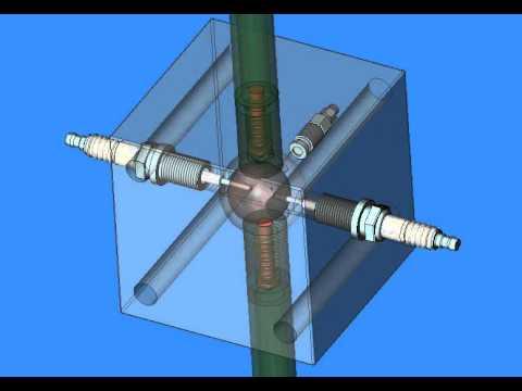 видео: Электрогидродинамический насос