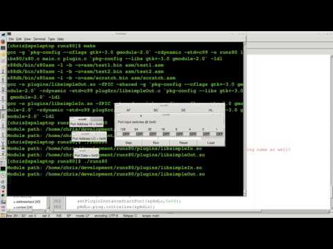 z80 emulator (with plugins for devices) | Official Pyra and