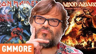 Whats The Most Metal Album Cover Ever? ft. Jack Black