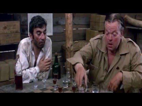 The Southern Star (1969)     Orson Welles + Ian Hendry (Jungle Hut Scene)