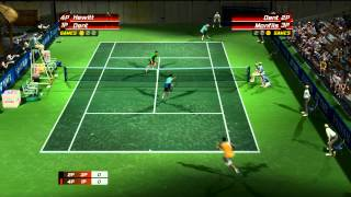 Virtua Tennis 3   Xbox Live Match 04