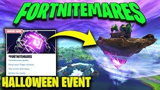 "NEW ""FORTNITEMARES"" Halloween Event - Skins,Backpacks & Leaky Lake Closing in Fortnite Battle Royale"