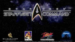 Star Trek: Starfleet Command - Federation Menu Screen