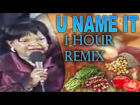 U NAME IT! - THANKSGIVING ANTHEM 1HOUR MIX