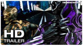 BLACK PANTHER Vs KILLMONGER - Fight Scene - BLACK PANTHER Movie Clip + Full Trailer (Marvel 2018)