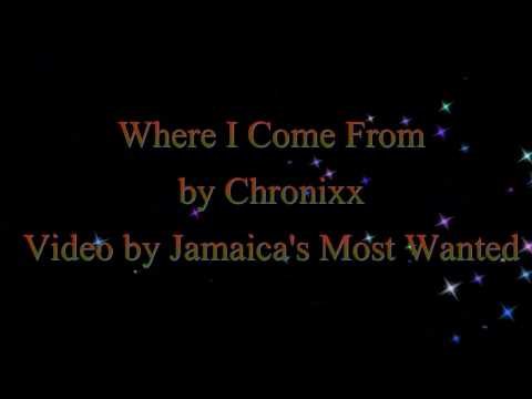 Where I Come From  - Chronixx  (Lyrics)