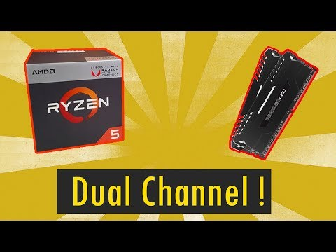 [HINDI] Single Channel vs Dual Channel : Testing New Ryzen APUs