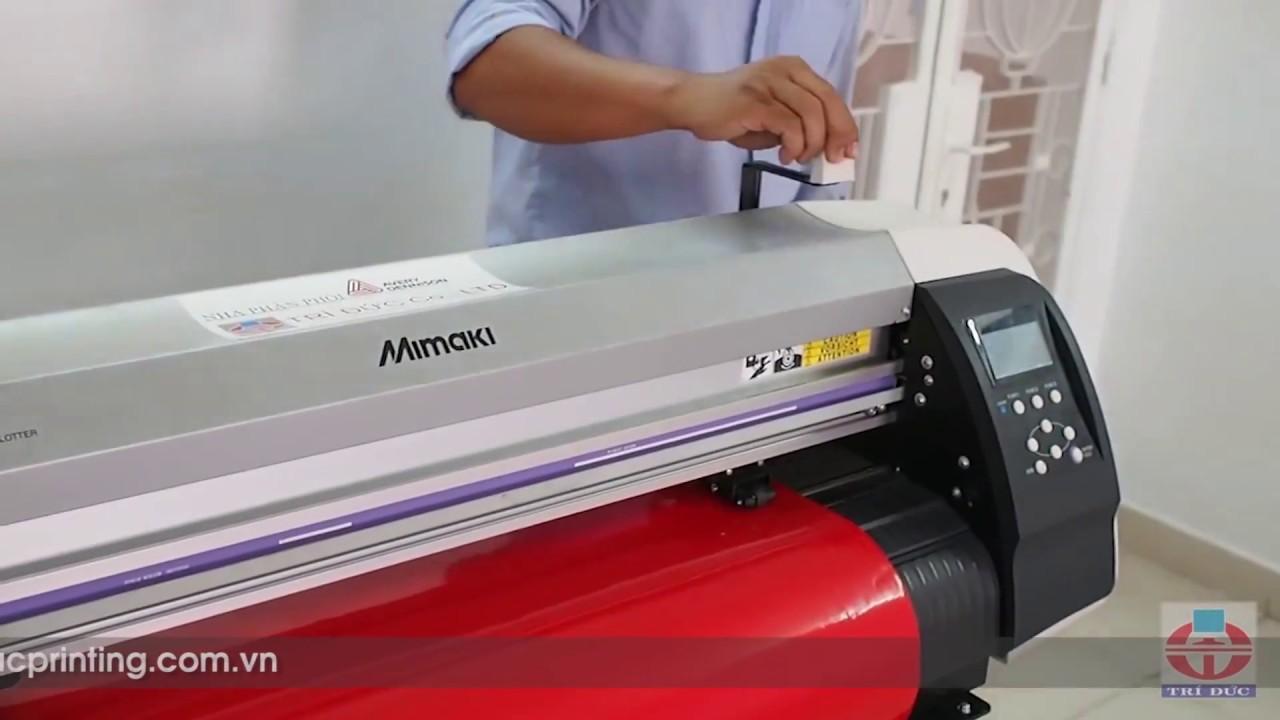 Máy cắt decal Mimaki CG-60SRIII - Trí Đức Printing