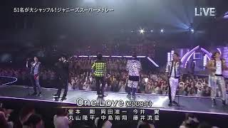 [One Love] 150704 THE MUSIC DAY - johnny's shuffle medley