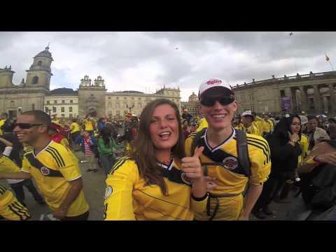 FiFA 2014 Highlights: Colombia vs Uruguay - Live from Plaza de Bolivar Bogota, Colombia 6/28/2014
