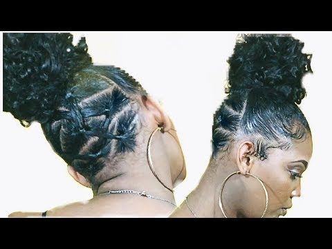 Last Minute Valentines Day Hairstyle Rubber Band Method On