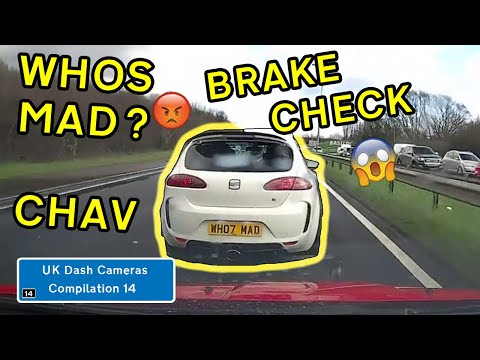 UK Dash Cameras - Compilation 14 - 2020 Bad Drivers, Crashes + Close Calls