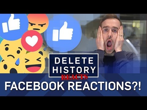 What Facebook Reactions REALLY Mean - Delete History Reacts - BBC Brit