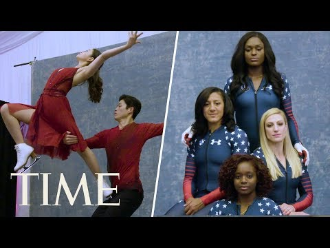 2018 Winter Olympics: Nathan Chen, Mikaela Shiffrin & More Athletes Get Ready | Meet Team USA | TIME
