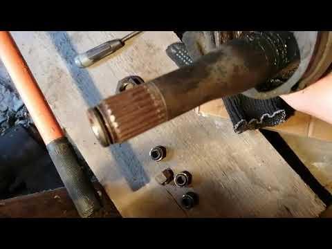 Замена правого Шруса внутреннего (привода) Форд Фокус 1 1.8 механика , устраняем вибрацию.