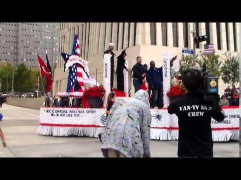 Houston Celebrates Heroes Veterans Day...