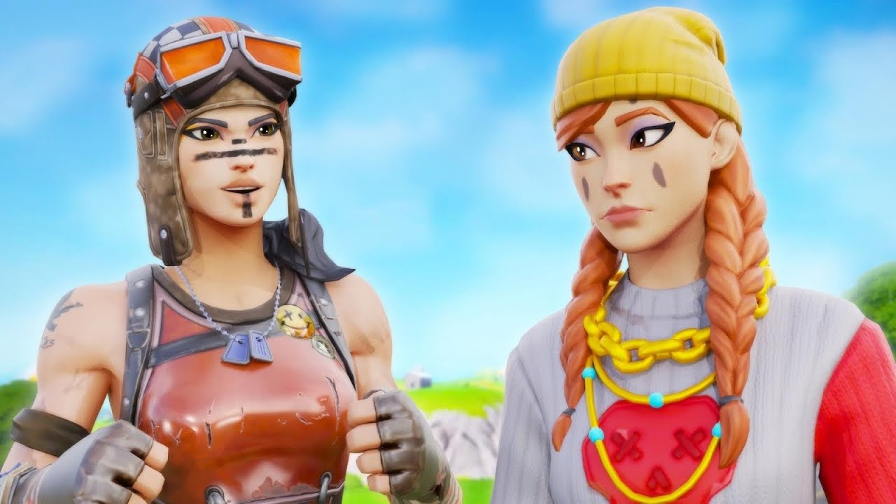 I Challenged GIRL GAMERS to a 1v1 In Fortnite And This Happened (Insane)