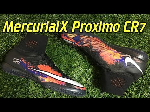 CR7 Nike MercurialX Proximo Indoor Savage Beauty - Review + On Feet