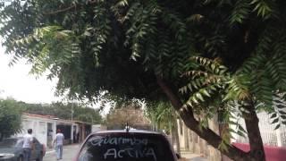 GUARDIAS NACIONALES CON TANQUETA ATACANDO 20-02-2014 A VECINOS EN CABUDARE ESTADO LARA