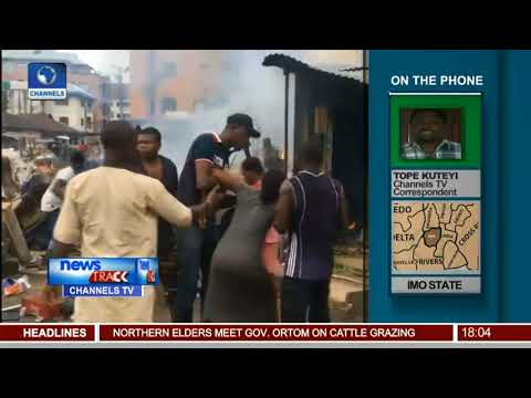 Channels TV Imo Correspondent Update On Market Relocation Clash