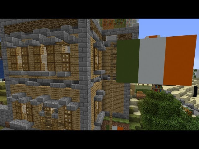 I forced my loyal fans to build Ireland itself in Minecraft
