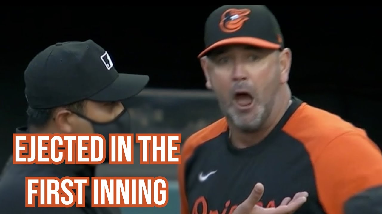 Orioles Manager did not think he should be ejected, a breakdown