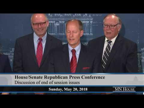 House/Senate Republican Media Availability  5/20/18