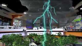 Anatomy of a Lightning Strike in 3D