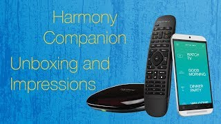 Harmony Hub + Companion: Unboxing, Setup and First Impressions