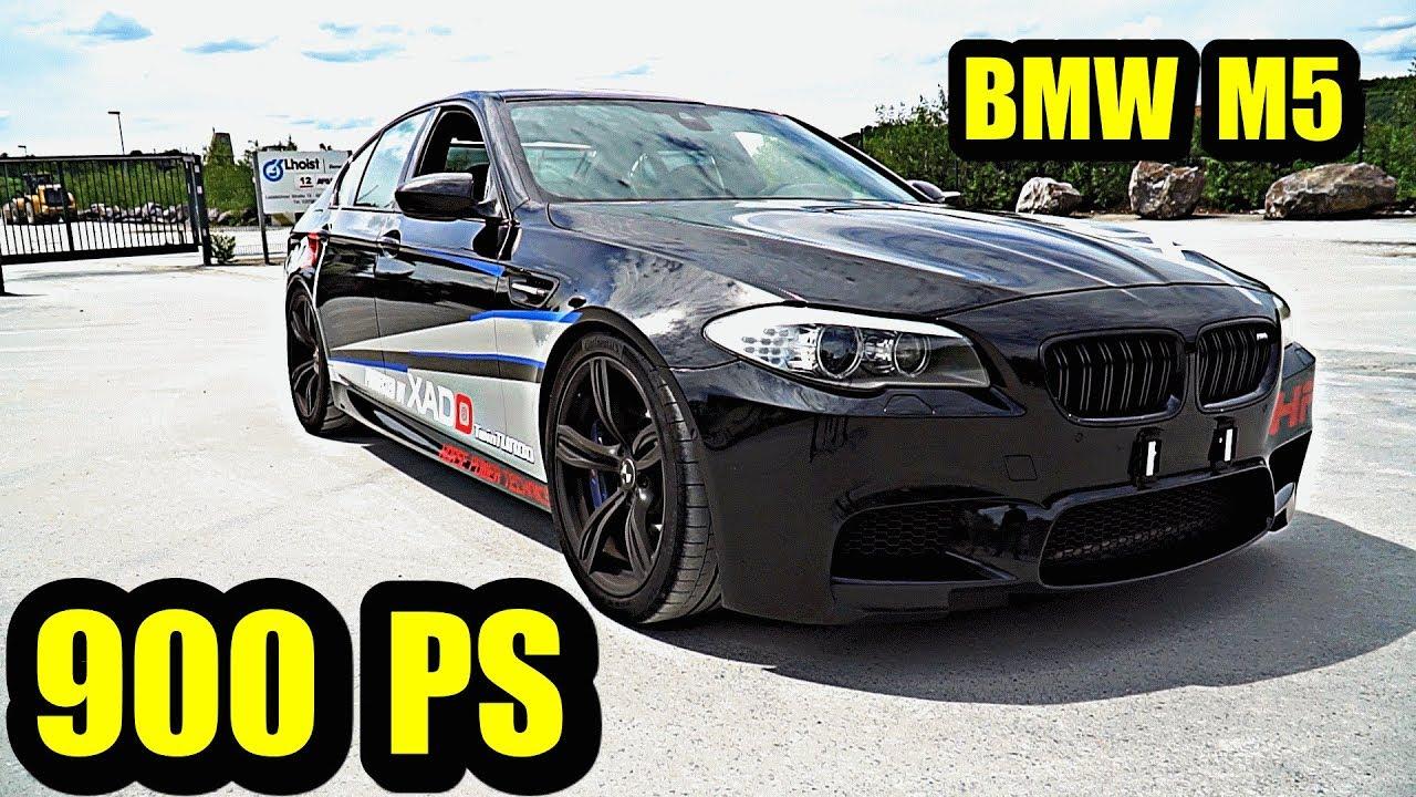 Wolf im Schafspelz - BMW M5 F10 mit 900 PS von HPT !!!