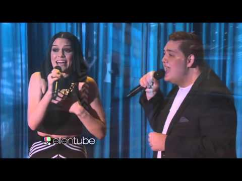 Jessie J And Tom Bleasby Singing Flashlight