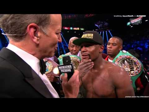 Mayweather vs Pacquiao Post Fight Interview in HD
