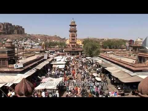 Ghanta Ghar or clock tower in Jodhpur