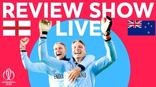 The Final Review LIVE – New Zealand v England   ICC Cricket World Cup 2019
