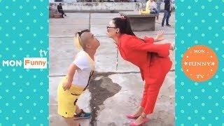 فيديوهات مضحكة 2018 ★ أشخاص يقومون بأشياء مضحكة P79