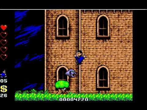 The Addams family - Atari ST [Longplay]