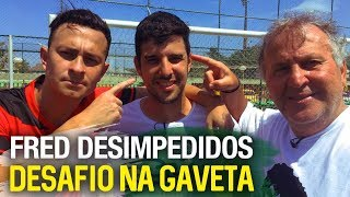 NA GAVETA #6 - FRED (DESIMPEDIDOS) - Desafio de falta | Canal Zico 10