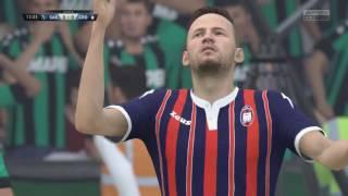 Video Gol Pertandingan Sassuolo vs Crotone
