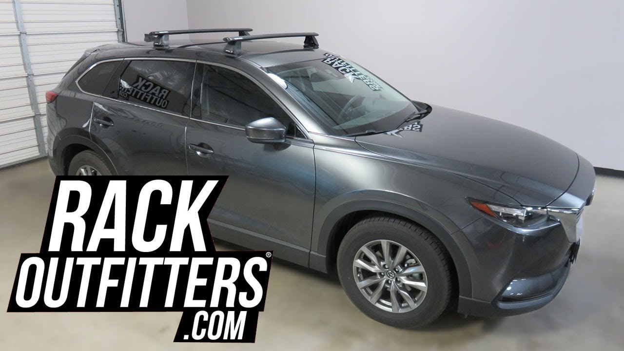 Mazda CX 9 With Rhino Rack Vortex Aero 2500 FMP Roof Rack Crossbars