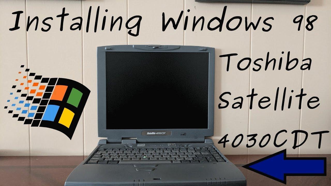 TOSHIBA SATELLITE 4030CDT WINDOWS 7 X64 TREIBER