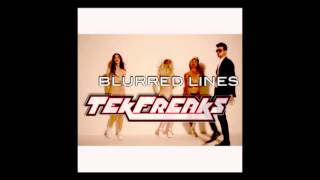 Robin Thicke - Blurred Lines (TekFreaks Bad Girl Electro Remix)