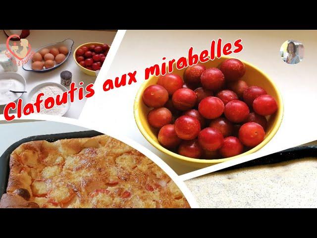 Clafoutis Aux Mirabelles Fraîches De Charentes