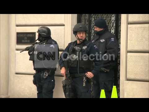 NY:FRENCH CONSULATE SECURITY INCREASED