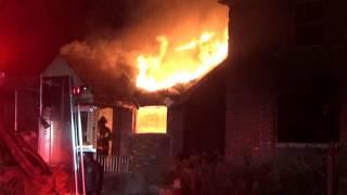 Detroit Fire Department - Box Alarm 8th Battalion Moran St