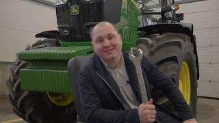 Обзор трактора John Deere 6195M / Джон Дир 6195М