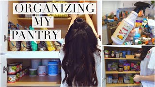 Organize and Declutter With Me + What's In My Pantry!