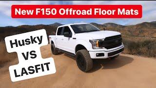 LASFIT F150 Off-road Floor Mats Installed!! HUSKY VS LASFIT *GRATITUDE VLOG*