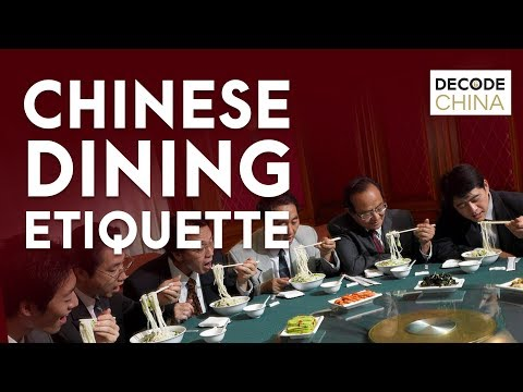 Chinese Dining Etiquette | Decode China